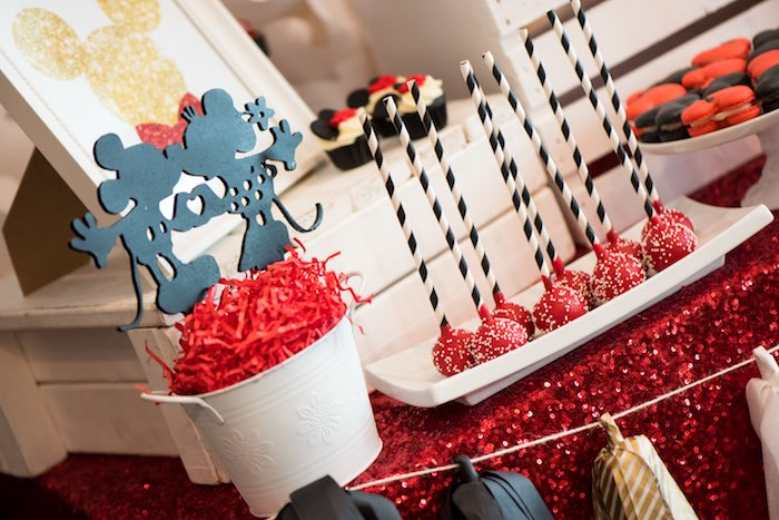 Party details from a Minnie Mouse Birthday Party via Kara's Party Ideas | KarasPartyIdeas.com (18)