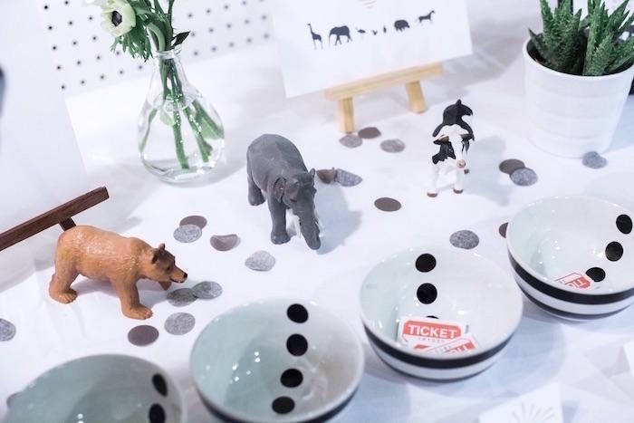 Party decor from a Modern Animal Birthday Party via Kara's Party Ideas | KarasPartyIdeas.com (17)