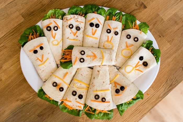 Mad Professor Wraps From A Modern Science Themed Birthday Party Via Karas Ideas KarasPartyIdeas