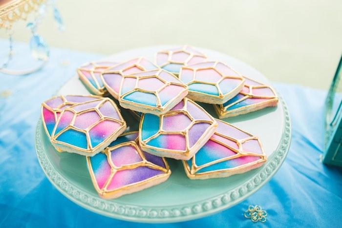 Ombre cookies from a Moroccan Genie Party via Kara's Party Ideas | KarasPartyIdeas.com (43)
