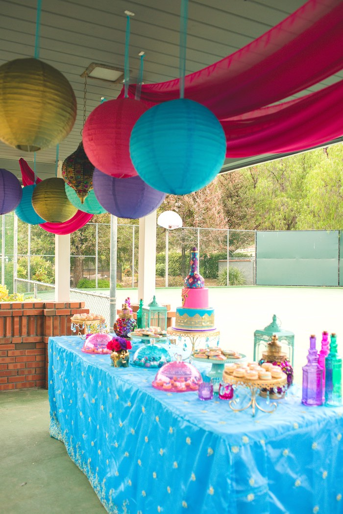 Karas Party Ideas Moroccan Genie Party Karas Party Ideas