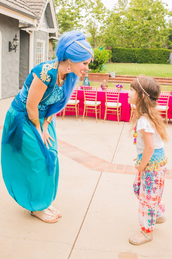 Genie love from a Moroccan Genie Party via Kara's Party Ideas | KarasPartyIdeas.com (8)