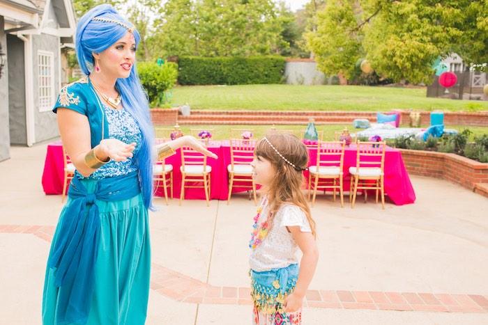 Genie wonderment from a Moroccan Genie Party via Kara's Party Ideas | KarasPartyIdeas.com (7)