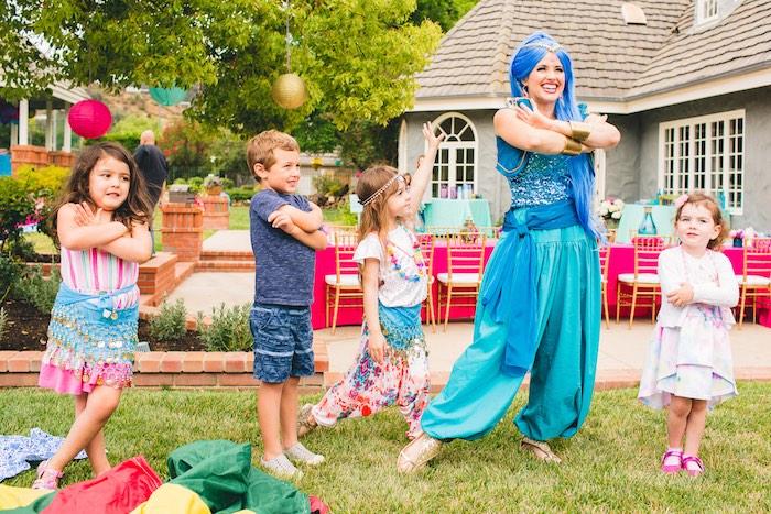 Genie fun from a Moroccan Genie Party via Kara's Party Ideas | KarasPartyIdeas.com (5)