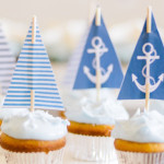 Nautical Themed 100th Day Party via Kara's Party Ideas | KarasPartyIdeas.com (1)