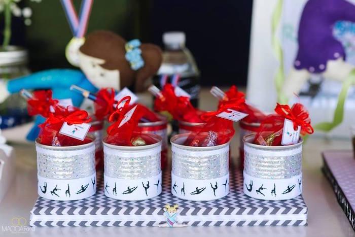 Kara S Party Ideas Olympic Gymnastics Themed Birthday Party Kara S