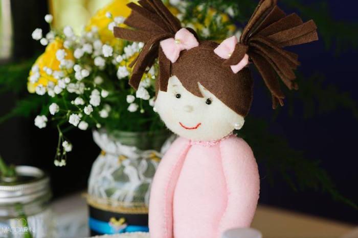 Doll from an Olympic Gymnastics Themed Birthday Party via Kara's Party Ideas   KarasPartyIdeas.com (31)