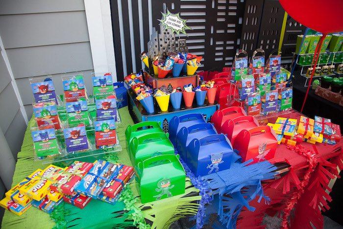Pj Mask Party Decorations New Kara's Party Ideas PJ Masks Superhero Birthday Party Kara's Party