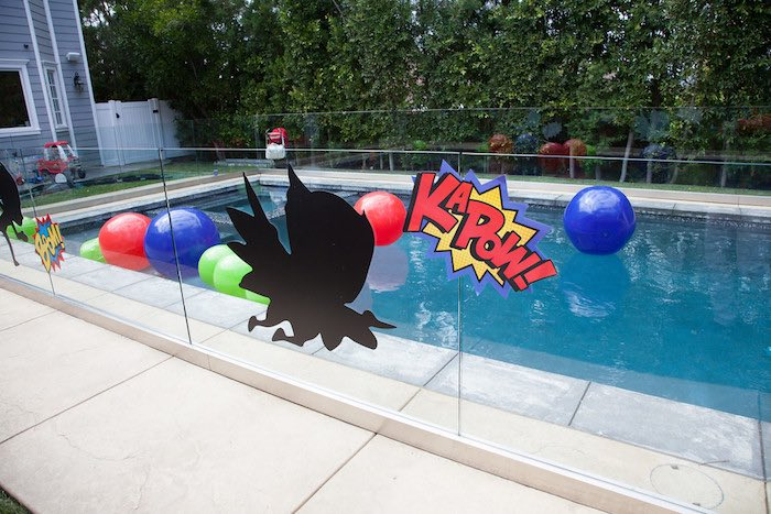 Party details from a PJ Masks Superhero Birthday Party via Kara's Party Ideas | KarasPartyIdeas.com (40)