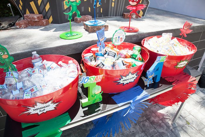 Kara s party ideas pj masks superhero birthday party kara s party