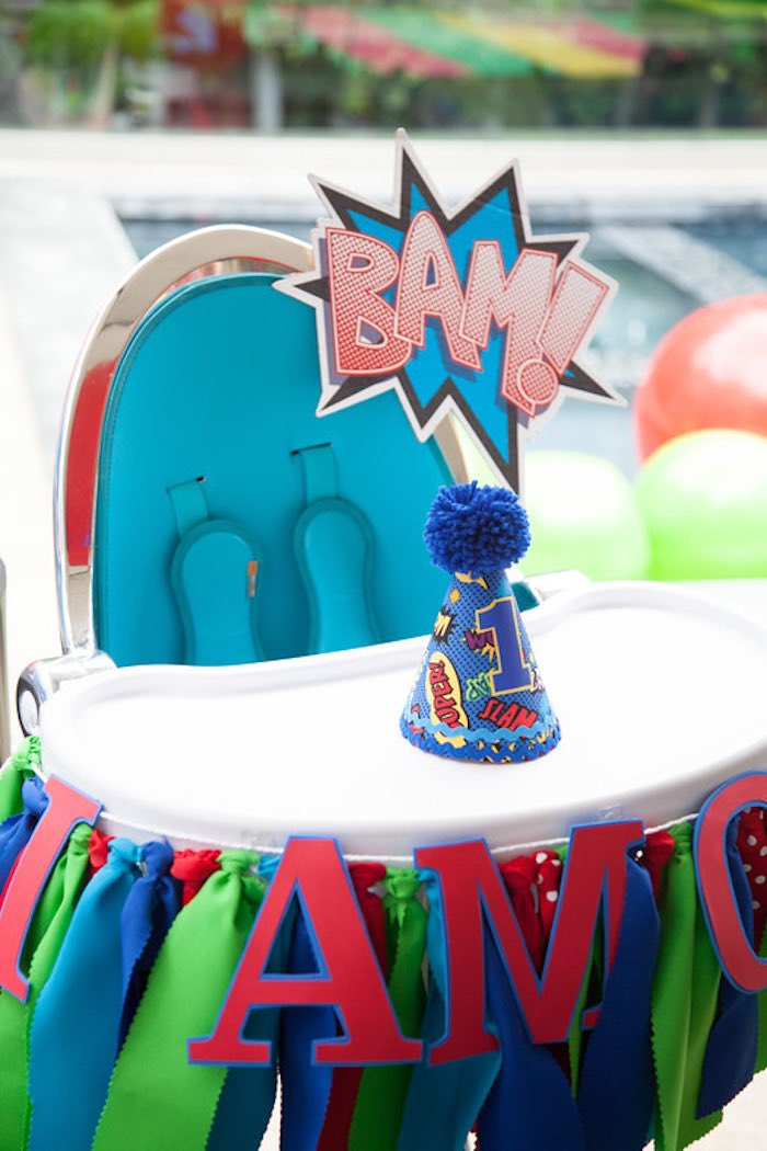 Party details from a PJ Masks Superhero Birthday Party via Kara's Party Ideas | KarasPartyIdeas.com (2)