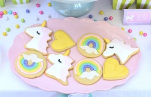 Cookies from a Pastel Unicorn Themed Birthday Party via Kara's Party Ideas | KarasPartyIdeas.com (18)