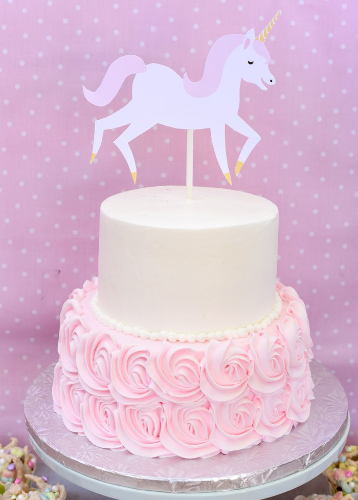Kara 39 s party ideas pastel unicorn themed birthday party for Idee gartenparty