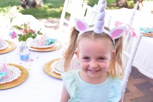 Little unicorn from a Pastel Unicorn Themed Birthday Party via Kara's Party Ideas | KarasPartyIdeas.com (9)