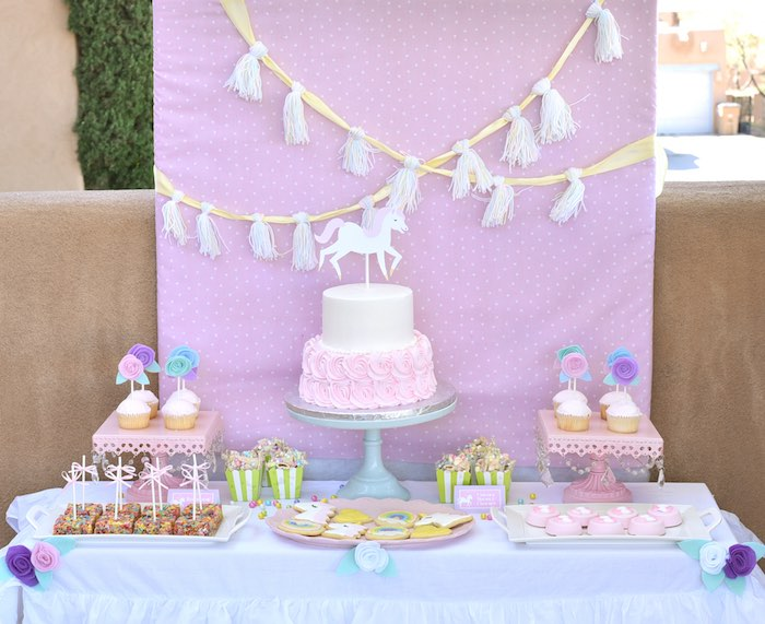 Pastel Unicorn Themed Birthday Party via Kara's Party Ideas | KarasPartyIdeas.com (31)