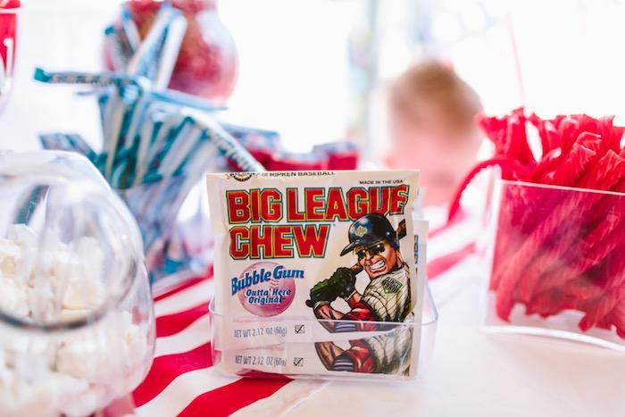 Big League Chew Bubblegum from a Patriotic Red + White & Blue Birthday BBQ via Kara's Party Ideas   KarasPartyIdeas.com (17)