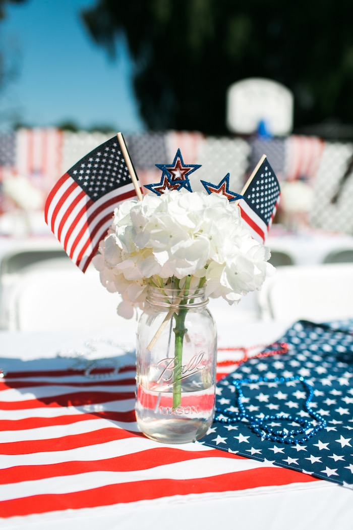 Kara s party ideas patriotic red white blue birthday