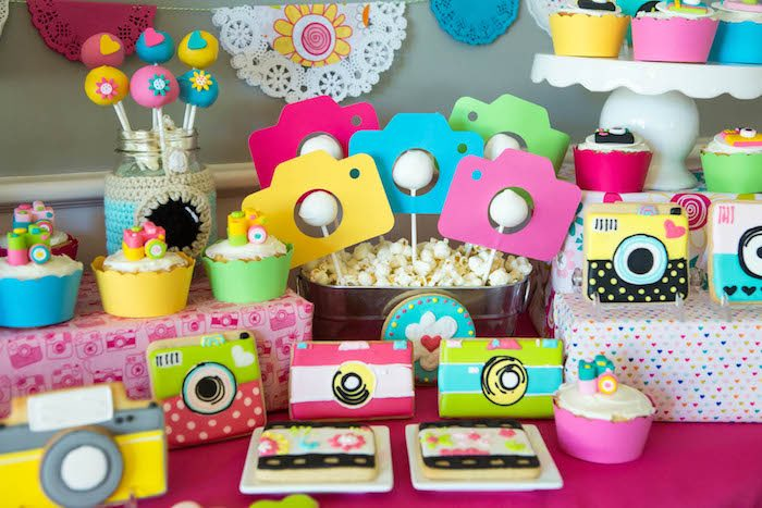 Kara S Party Ideas Photography Instagram Camera Themed