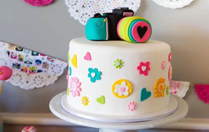 Kara's Party Ideas Photography + Instagram Camera Themed Birthday ...