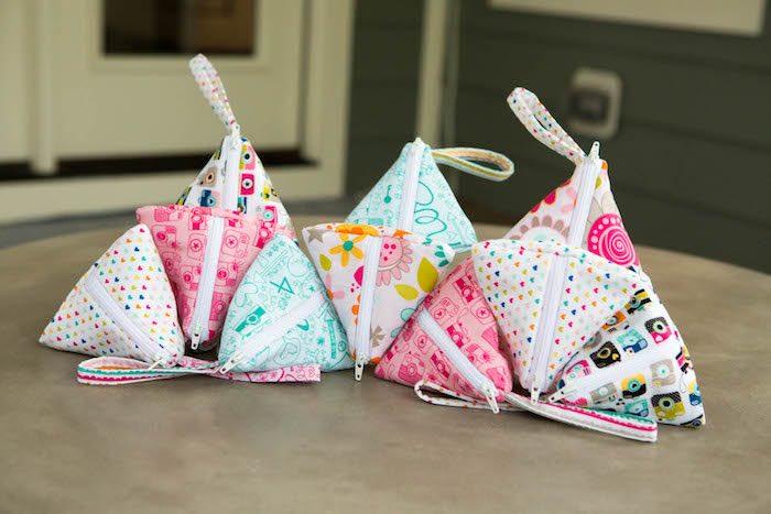 Triangle pouches from a Photography + Instagram Camera Themed Birthday Party via Kara's Party Ideas - KarasPartyIdeas.com (39)