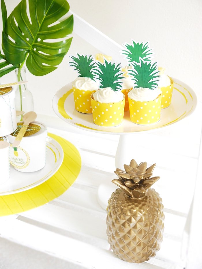 Pineapple Birthday Party via Kara's Party Ideas KarasPartyIdeas.com (17)