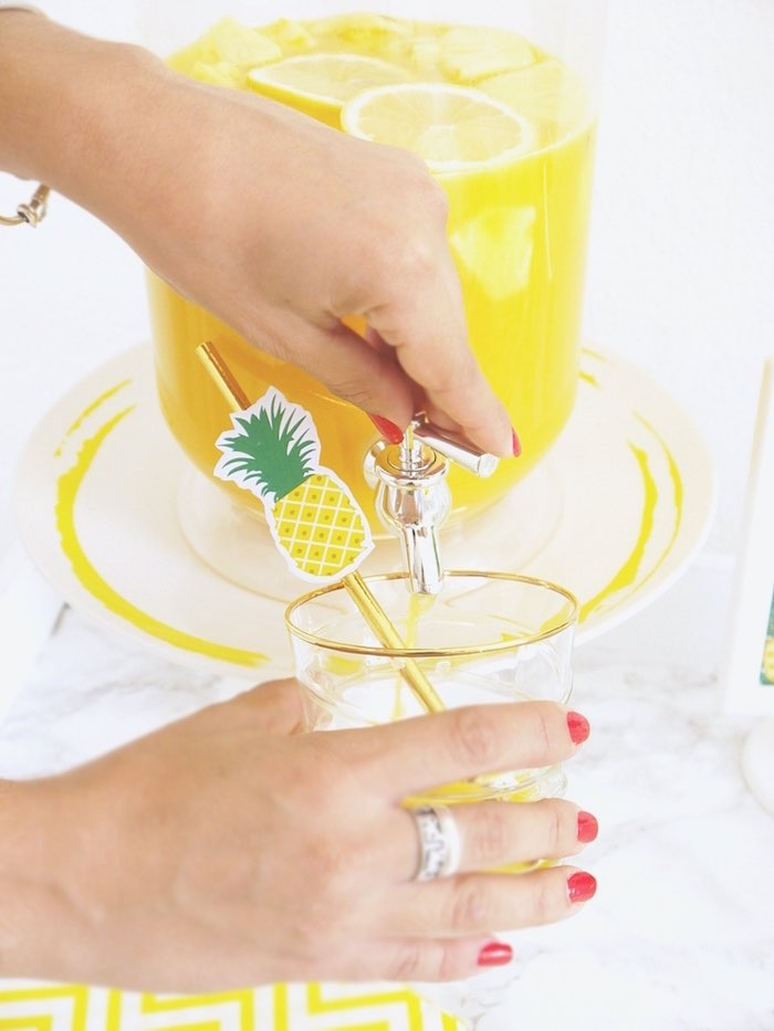 Pineapple Birthday Party via Kara's Party Ideas KarasPartyIdeas.com (9)