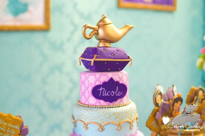 Kara\u0027s Party Ideas Colorful Princess Jasmine Birthday Party