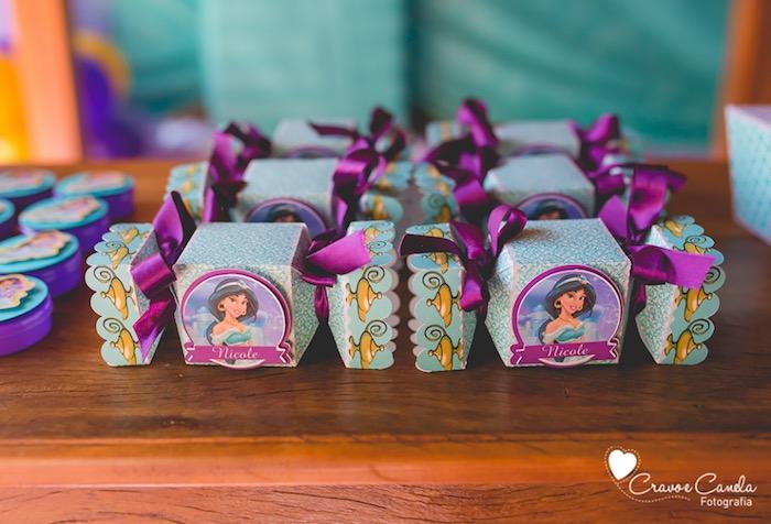 Kara S Party Ideas Colorful Princess Jasmine Birthday