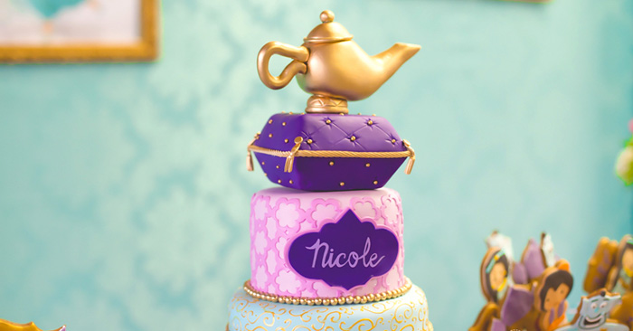 Princess Jasmine Birthday Party via Kara's Party Ideas KarasPartyIdeas.com (2)