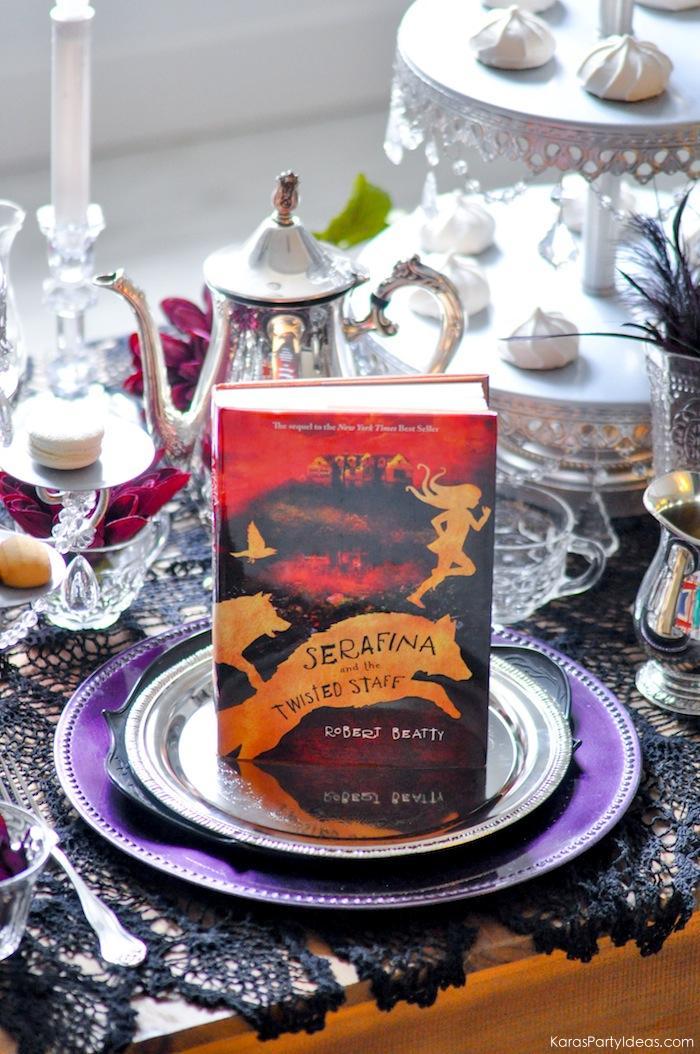 Serafina and the Twisted Staff Tea Party by Kara's Party Ideas | KarasPartyIdeas.com | Kara Allen | Book Release!-28