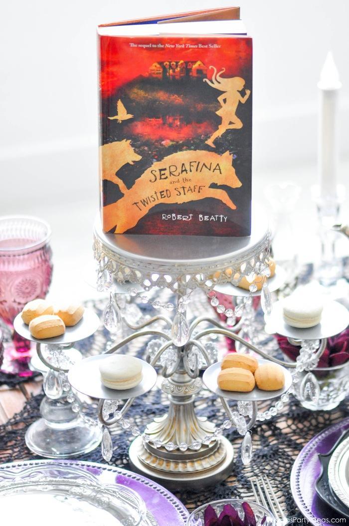 Serafina and the Twisted Staff Tea Party by Kara's Party Ideas | KarasPartyIdeas.com | Kara Allen | Book Release!-4
