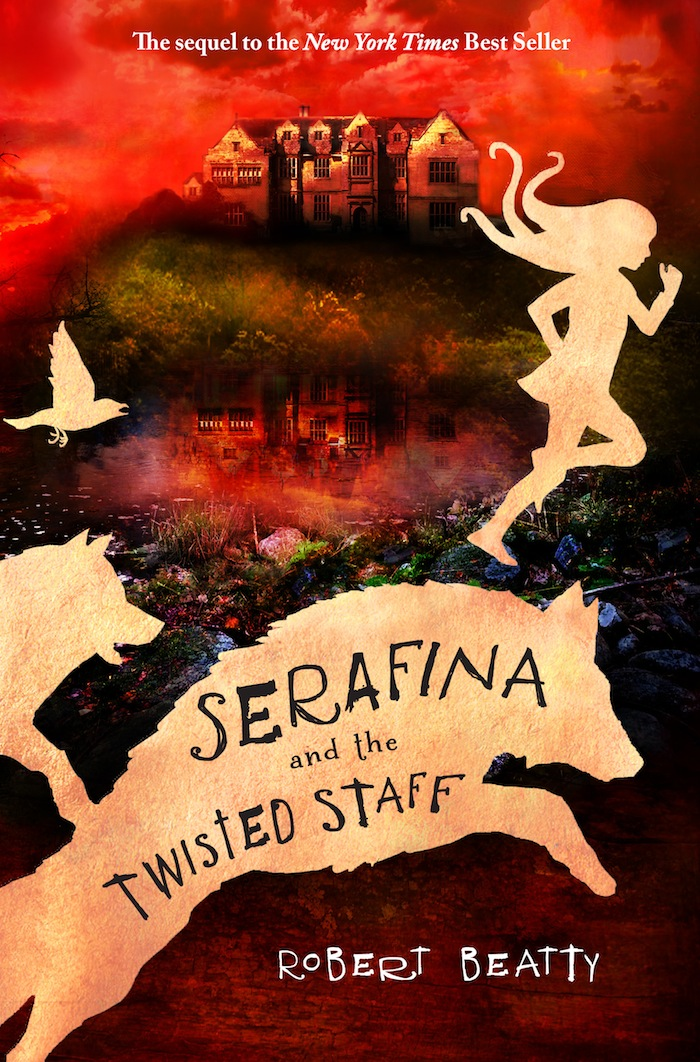 Serafina and the Twisted Staff Book Cover | Kara's Party Ideas