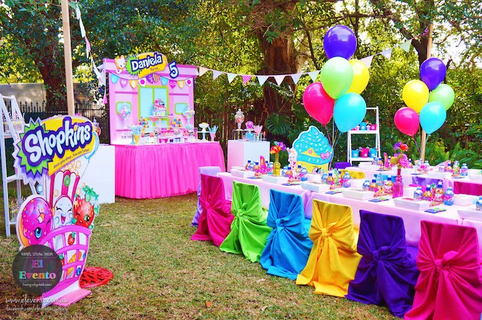 Partyscape from a Shopkins Birthday Party via Kara's Party Ideas | KarasPartyIdeas.com (17)
