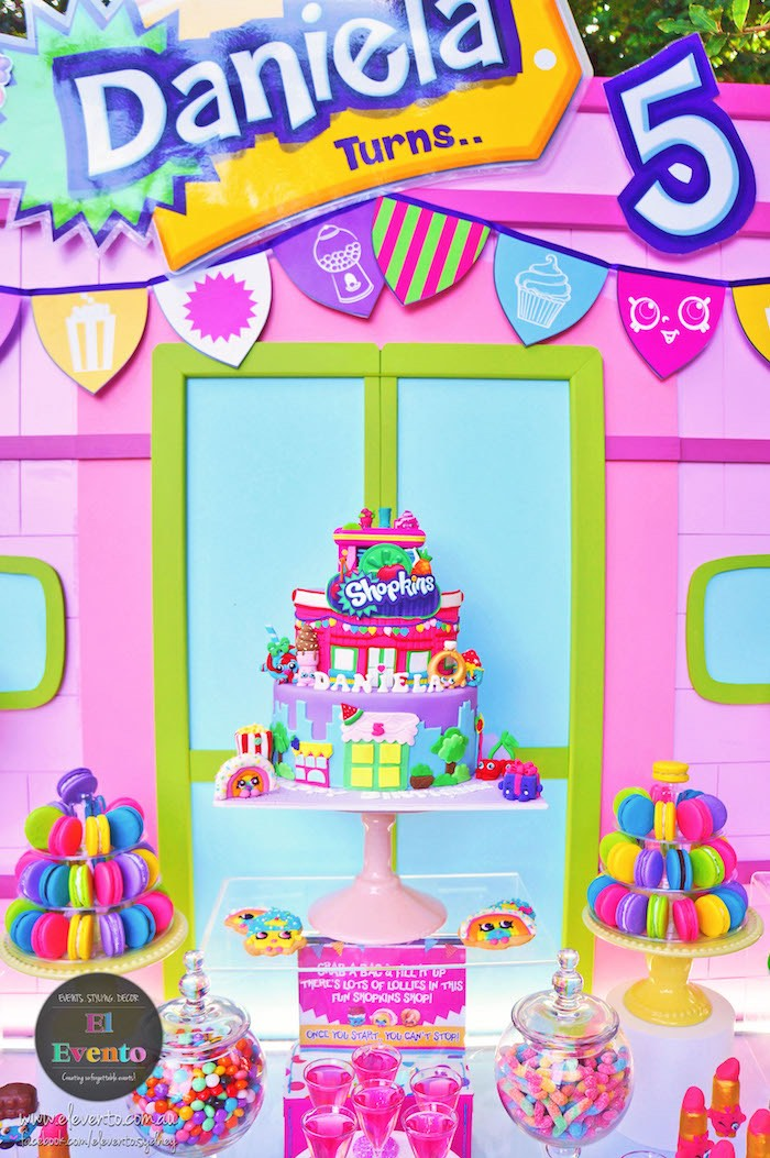 Shopkins cake from a Shopkins Birthday Party via Kara's Party Ideas | KarasPartyIdeas.com (10)