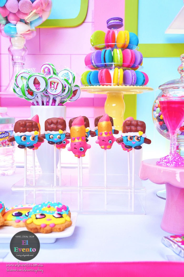 Shopkins cake pops, cookies, and sweets from a Shopkins Birthday Party via Kara's Party Ideas | KarasPartyIdeas.com (9)