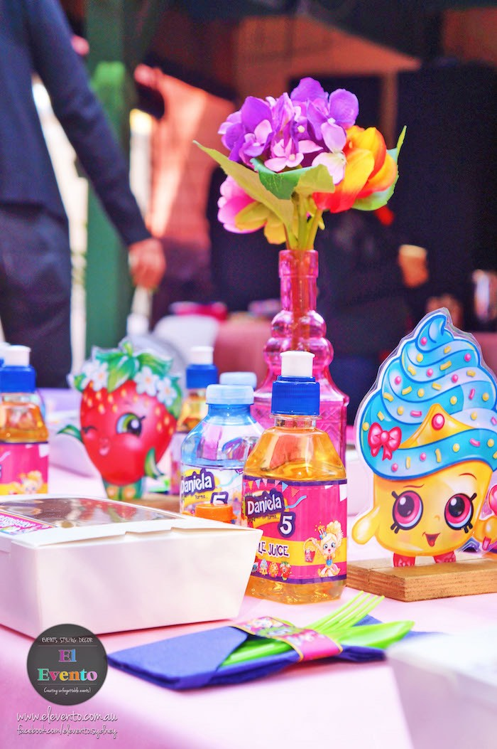 Shopkins centerpieces from a Shopkins Birthday Party via Kara's Party Ideas | KarasPartyIdeas.com (5)
