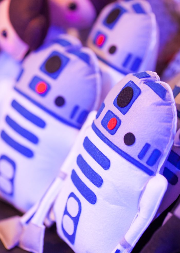 R2D2 favors from a Star Wars Birthday Party via Kara's Party Ideas | KarasPartyIdeas.com (16)