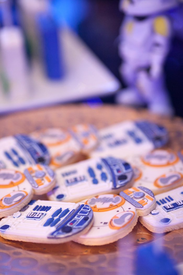 Cookies from a Star Wars Birthday Party via Kara's Party Ideas | KarasPartyIdeas.com (13)