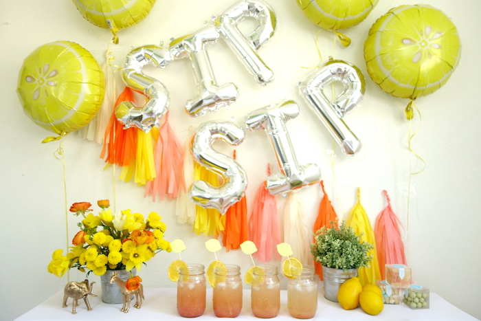 Summer Lemonade Party via Kara's Party Ideas | KarasPartyIdeas.com (9)