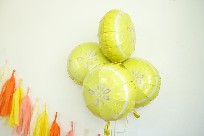 Decor from a Summer Lemonade Party via Kara's Party Ideas | KarasPartyIdeas.com (3)
