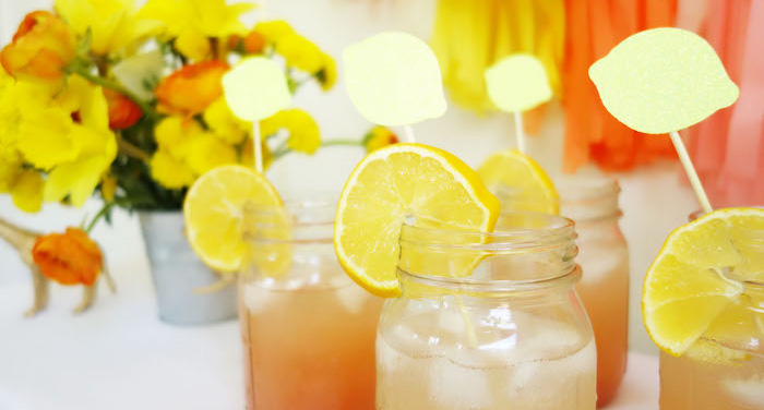 Summer Lemonade Party via Kara's Party Ideas | KarasPartyIdeas.com (1)
