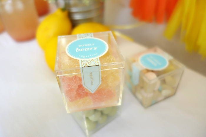 Favor boxes from a Summer Lemonade Party via Kara's Party Ideas | KarasPartyIdeas.com (17)