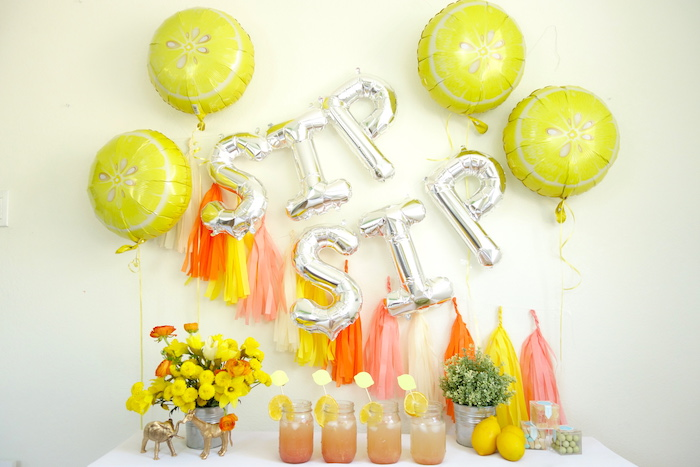 Summer Lemonade Party via Kara's Party Ideas | KarasPartyIdeas.com (14)