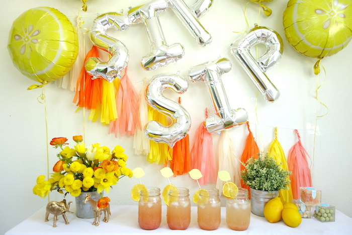 Party details from a Summer Lemonade Party via Kara's Party Ideas | KarasPartyIdeas.com (13)