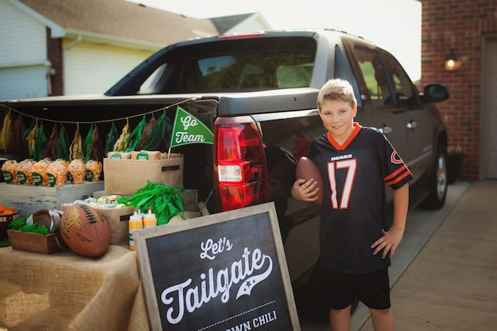 Tailgate Football Birthday Party via Kara's Party Ideas | KarasPartyIdeas.com | The place for all things Party! (8)