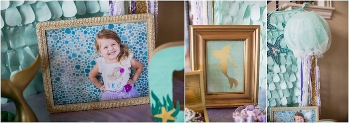 Party decor from an Under the Sea Birthday + Mermaid Party via Kara's Party Ideas | Full of fabulous party ideas, supplies, printables and more! KarasPartyIdeas.com (18)