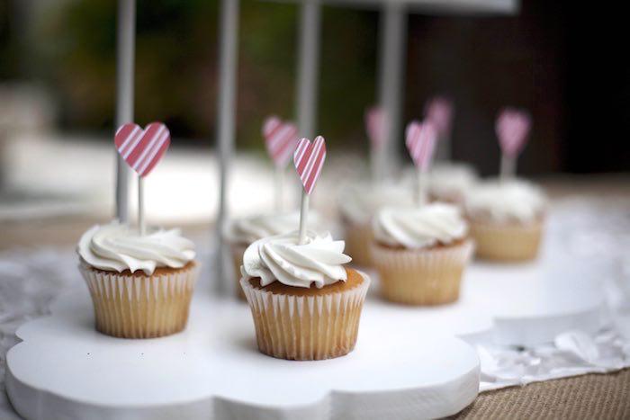 Cupcakes from a Vintage Kite Themed Birthday Party via Kara's Party Ideas KarasPartyIdeas.com (15)