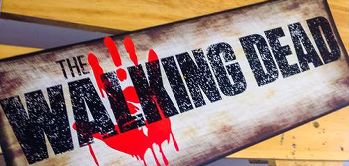 The Walking Dead Zombie Themed Birthday Party via Kara's Party Ideas | KarasPartyIdeas.com (2)