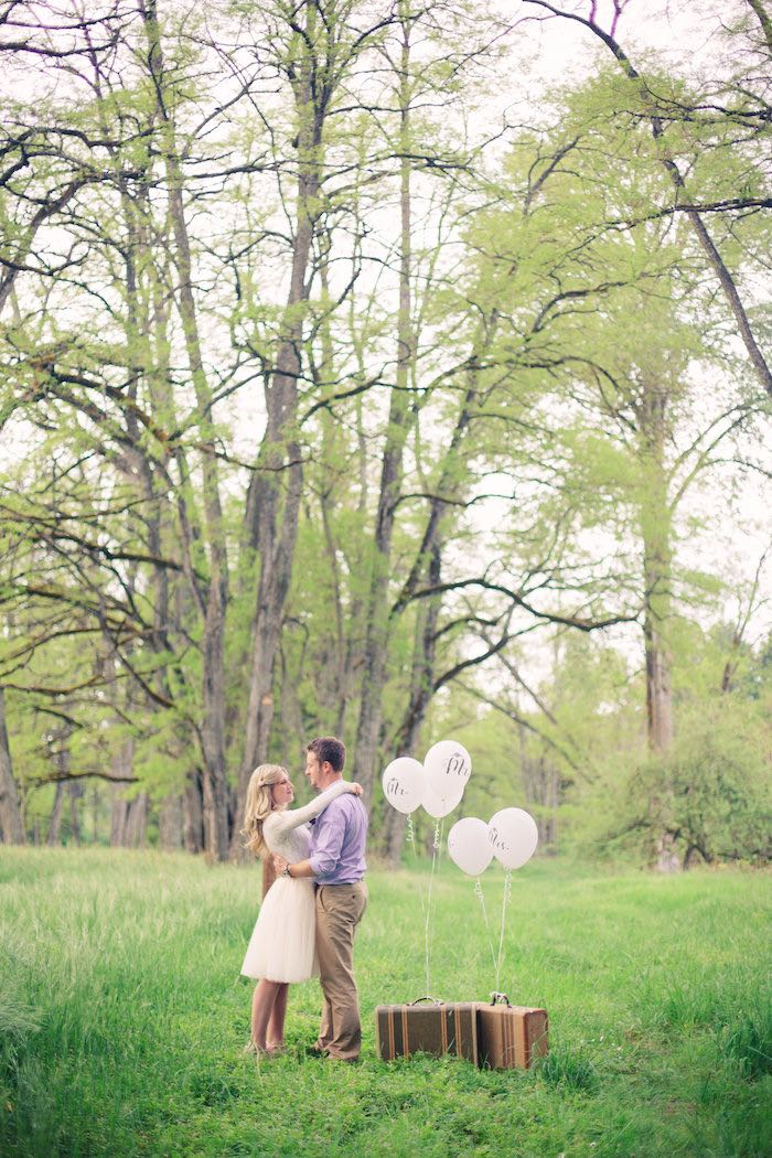 Bags packed from a Whimsical Rustic Floral Wedding via Kara's Party Ideas KarasPartyIdeas.com (21)