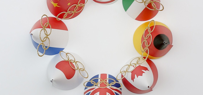"""Go 4 Gold"" Olympics Party on Kara's Party Ideas 